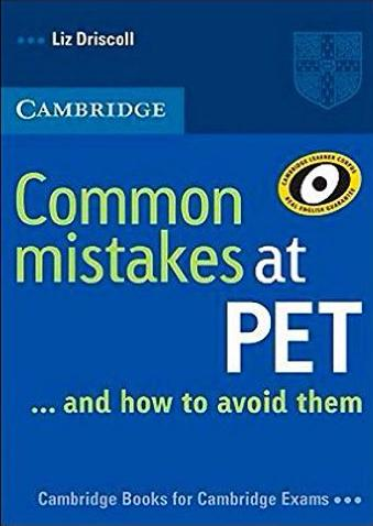 Common Mistakes at PET Book Student's Book