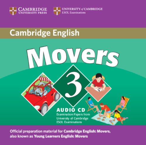 CAMBRIDGE YOUNG LEARNERS ENGLISH TESTS 2nd ED Movers 3 Class Audio CD
