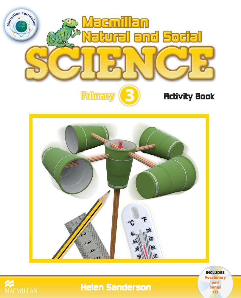 MACMILLAN NATURAL AND SOCIAL SCIENCE 3 Activity Book + Audio CD