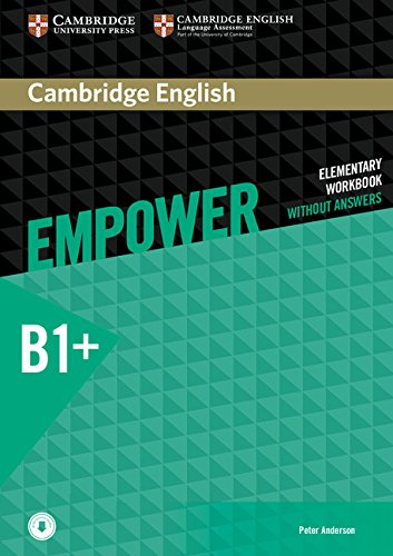 CAMBRIDGE ENGLISH EMPOWER INTERMEDIATE Workbook without answers + Downloadable Audio
