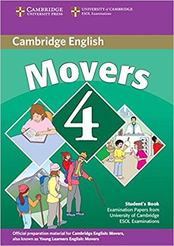 CAMBRIDGE YOUNG LEARNERS ENGLISH TESTS 2nd ED Movers 4 Student's Book