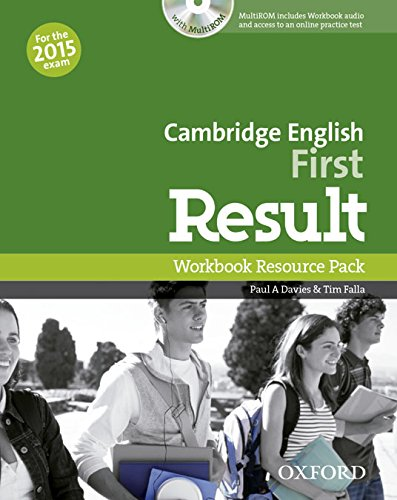 Cambridge English First Result  Workbook without answers + MultiROM 2015