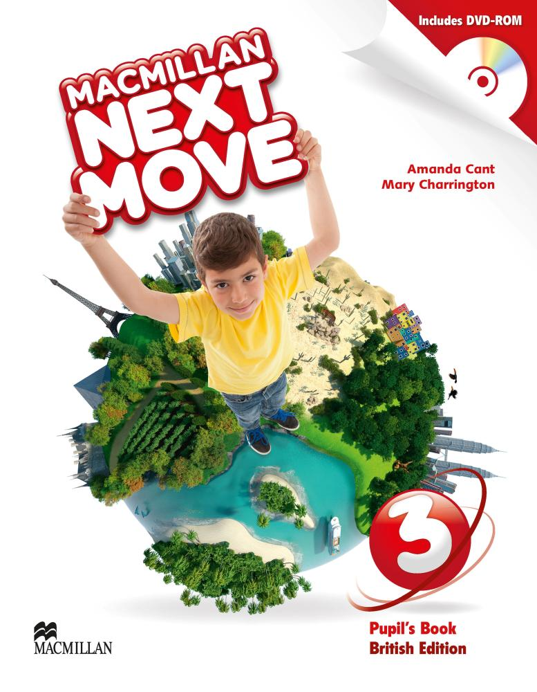 NEXT MOVE 3 Student's Book + DVD-ROM