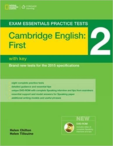 EXAM ESSENTIALS PRACTICE TESTS CAMBRIDGE ENGLISH FIRST 2 Student's Book with Answers + DVD-ROM