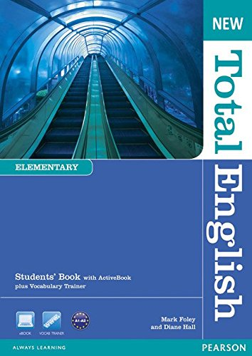 NEW TOTAL ENGLISH ELEMENTARY  Student's  Book+ DVD+Active book