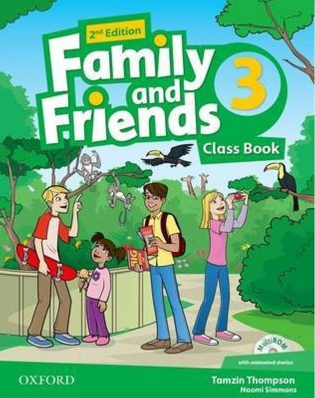 FAMILY AND FRIENDS 3 2nd ED Class Book + MultiROM