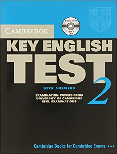 CAMBRIDGE KEY ENGLISH TEST 2 Self-study Pack (Student's Book with Answers + Audio CD (x2))