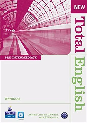 NEW TOTAL ENGLISH PRE-INTERMEDIATE  Workbook without answers+ Audio CD