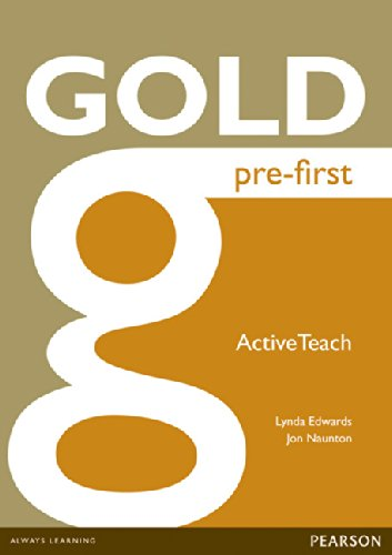 Gold New Edition Pre-First  Active Teach