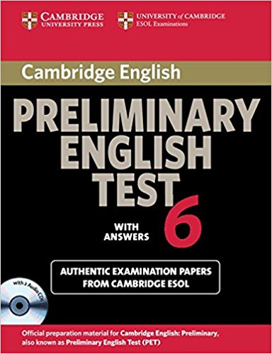 Cambridge PET 6 Self-Study Student's Book with answers + AudioCD