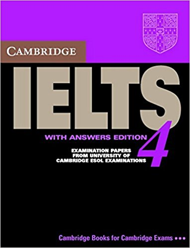 CAMBRIDGE IELTS 4 Student's Book with Answers + Audio CD