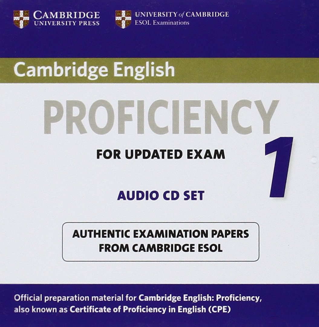 CAMBRIDGE ENGLISH PROFICIENCY 1 Audio CDs (x2)