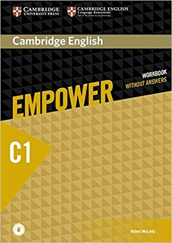 CAMBRIDGE ENGLISH EMPOWER ADVANCED Workbook without answers + Downloadable Audio