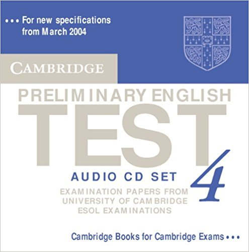 Cambridge PET 4 AudioCD x2