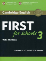 CAMBRIDGE ENGLISH FIRST FOR SCHOOLS TEST 3