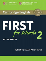 CAMBRIDGE ENGLISH FIRST FOR SCHOOLS TEST 2