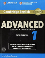 CAMBRIDGE ENGLISH ADVANCED TEST 1 (2015)