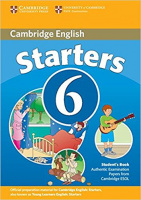 CAMBRIDGE ENGLISH YOUNG LEARNERS ENGLISH TESTS STARTERS 6