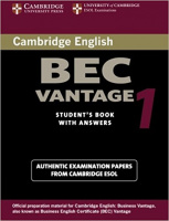 CAMBRIDGE BEC TEST 1