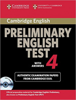 CAMBRIDGE PRELIMINARY ENGLISH TEST 4