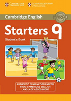 CAMBRIDGE ENGLISH YOUNG LEARNERS ENGLISH TESTS STARTERS 9