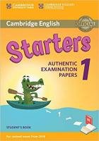 NEW CAMBRIDGE ENGLISH YOUNG LEARNERS PRACTICE TESTS 2018 Revised Exams STARTERS 1